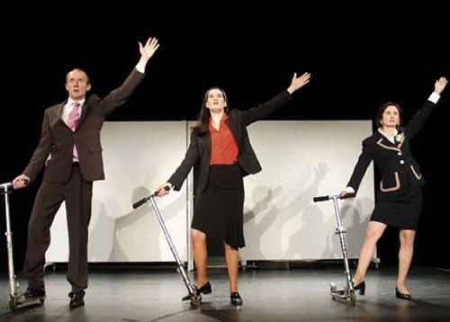 Eloge de la motivation, de la performance et du dépassement de soi. - Critique sortie Avignon / 2010