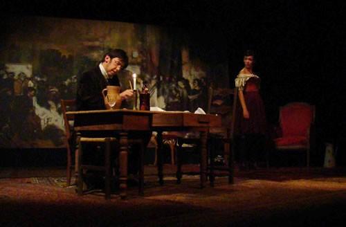 Proudhon  modèle Courbet - Critique sortie Avignon / 2010