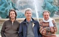 Crédit photo de groupe : DR Légende photo de groupe : Stanislas Grassian, Jean-Claude Penchenat, Alain Batis