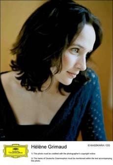 Hélène Grimaud, - Critique sortie Classique / Opéra
