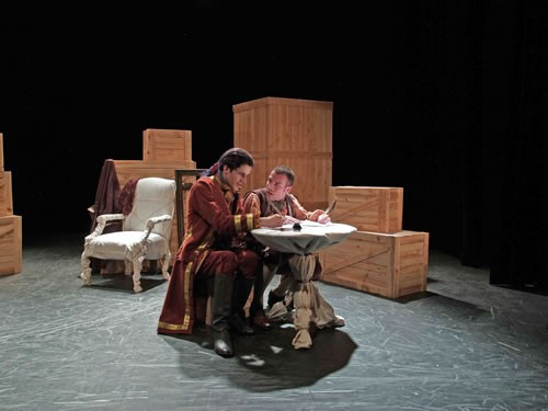 La Disgrâce de Jean-Sébastien Bach - Critique sortie Avignon / 2009