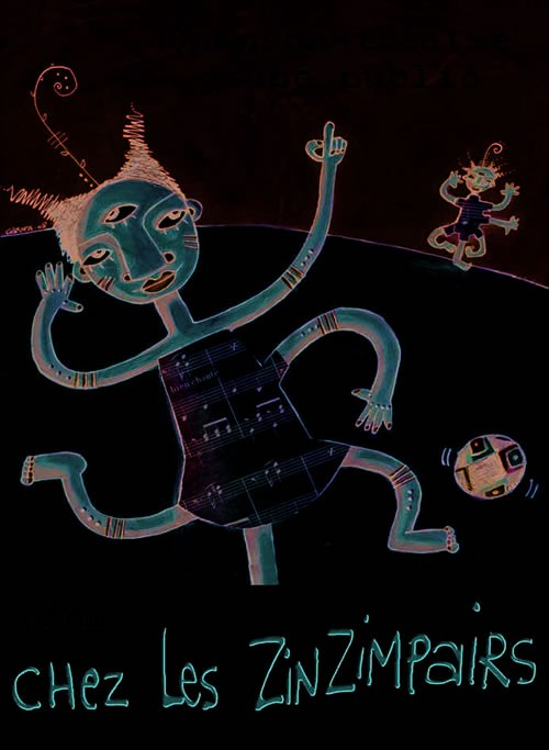 Chez les Zinzimpairs et Le tiroir à trésors - Critique sortie Avignon / 2009