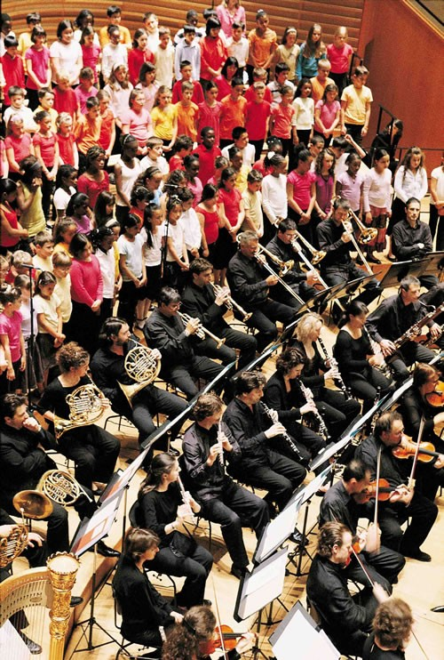 Les nouvelles formules de concert de l'Ensemble orchestral contemporain - Critique sortie