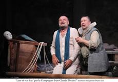 Mozart père et fils / Lear et son fou - Critique sortie Théâtre