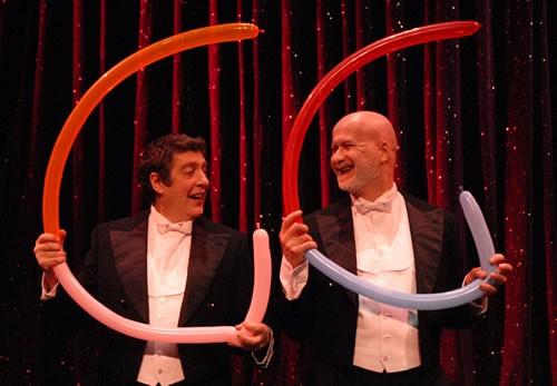 Les 2 « G », artistes de music-hall - Critique sortie Avignon / 2012