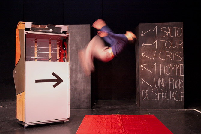 De nos jours [notes on the circus] - Critique sortie Cirque Paris Le Monfort