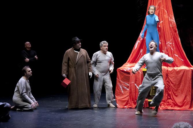 L'Atelier volant de Valère Novarina - Critique sortie Théâtre Paris Théâtre du Rond-Point