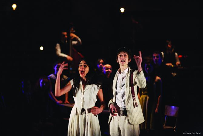 Paroles gelées - Critique sortie Théâtre Cergy-Pontoise
