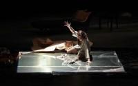 Crédit Photo : Olivier Roset Légende : Marie Micla, troublante, dirigée par Philippe Adrien.