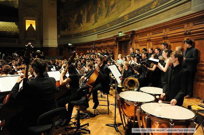 ORCHESTRE DE LA SORBONNE - Critique sortie Classique / Opéra Paris Grand amphithéâtre de la Sorbonne