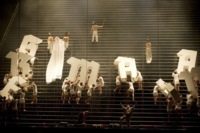 L'ANNEAU DU NIBELUNG - Critique sortie Classique / Opéra Paris Opéra Bastille