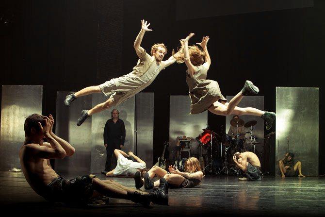 Œdipus / Bêt Noir - Critique sortie Danse Paris Théâtre de la Ville