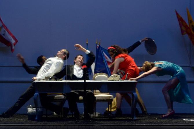 L'intégrale de Georg Büchner, Woyzeck, La Mort de Danton et Léonce et Léna - Critique sortie Théâtre Paris Théâtre de la Ville