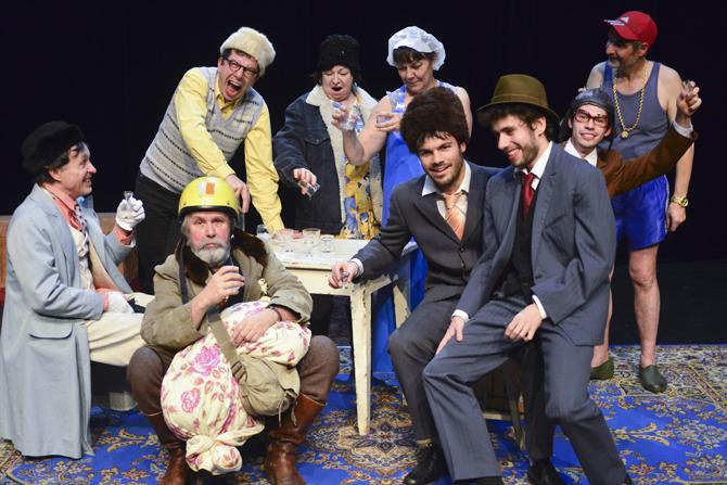Au Cabaret Tchekhov - Critique sortie Théâtre La Courneuve Centre culturel Jean-Houdremont