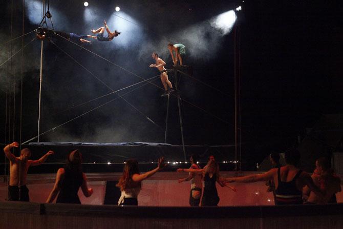 Pulsions - Critique sortie Théâtre Paris l'Espace Chapiteau de la Villette