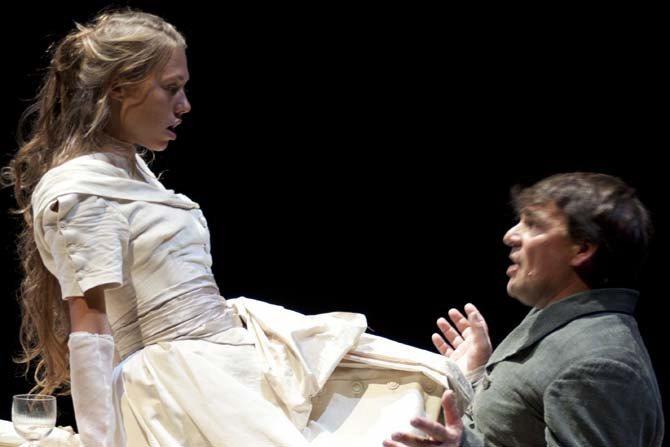 Mademoiselle Julie - Critique sortie Théâtre Maurepas Espace Albert Camus
