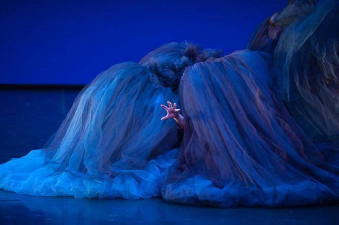 Légende : Giselle, par-delà une apparente simplicité. DR