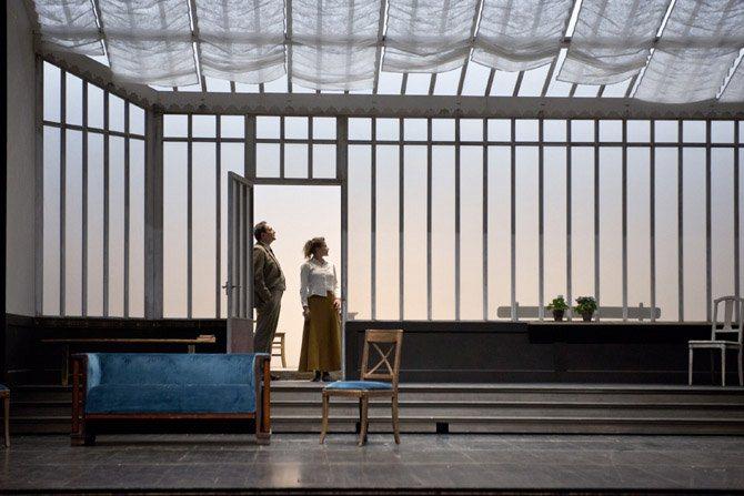 Solness le constructeur - Critique sortie Théâtre Paris Théâtre national de la Colline