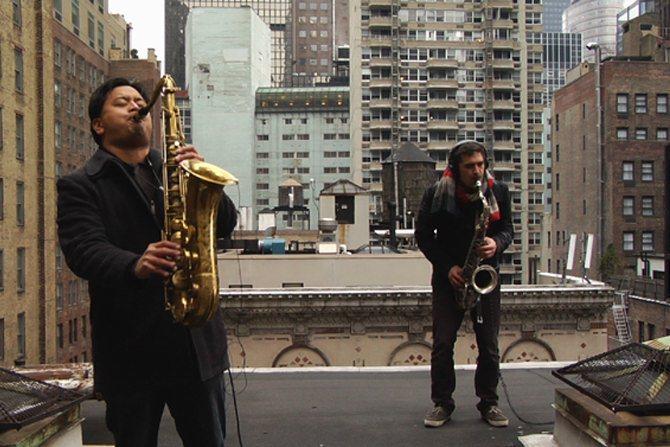 SYLVAIN RIFFLET SUR LES PAS DE MOONDOG - Critique sortie Jazz / Musiques Bobigny Salle Pablo Neruda