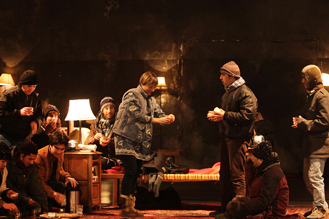 La Ronde de nuit - Critique sortie Théâtre Paris Théâtre du Soleil