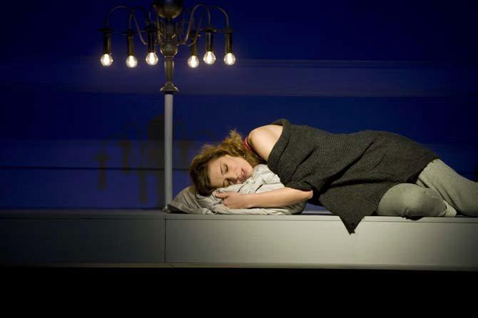 Molly Bloom - Critique sortie Théâtre Aubervilliers Théâtre de la Commune