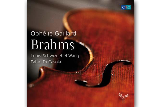 Ophélie Gaillard interprète Brahms - Critique sortie Classique / Opéra Pantin Label Aparté