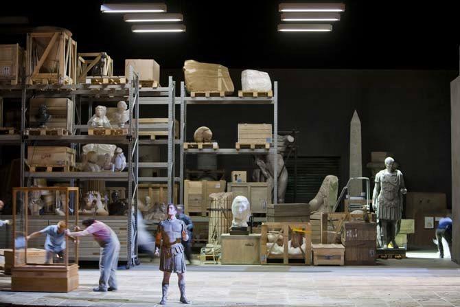GIULIO CESARE IN EGITTO - Critique sortie Classique / Opéra Paris Palais Garnier