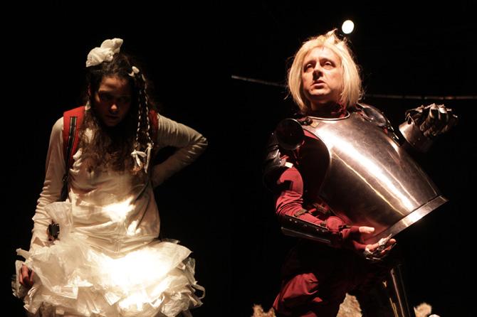 © DR Le thème du monstre à travers deux monologues de François Chaffin, mis en scène par Sylvie Baillon.