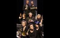 Crédit : Christophe Raynaud de Lage Légende : Les interprètes de Cabaret Boris Vian.