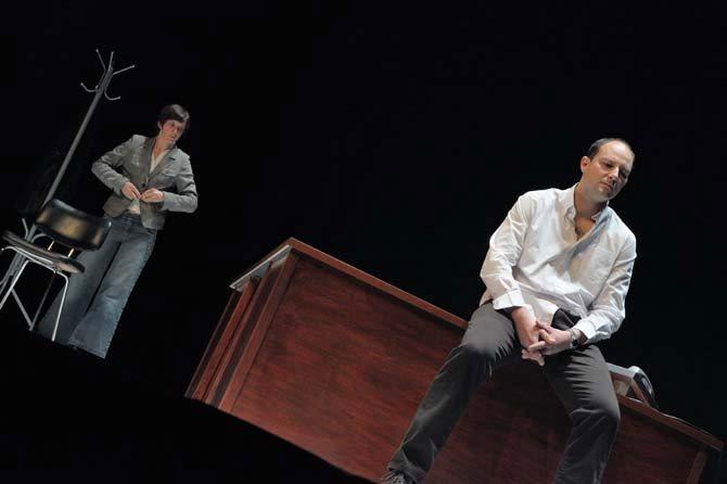 Oleanna - Critique sortie Avignon / 2013 Avignon Théâtre Girasole
