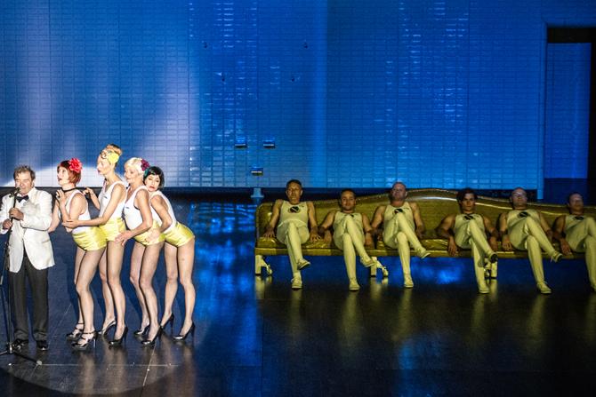 Cabaret Varsovie - Critique sortie Avignon / 2013 Avignon La Fabrica
