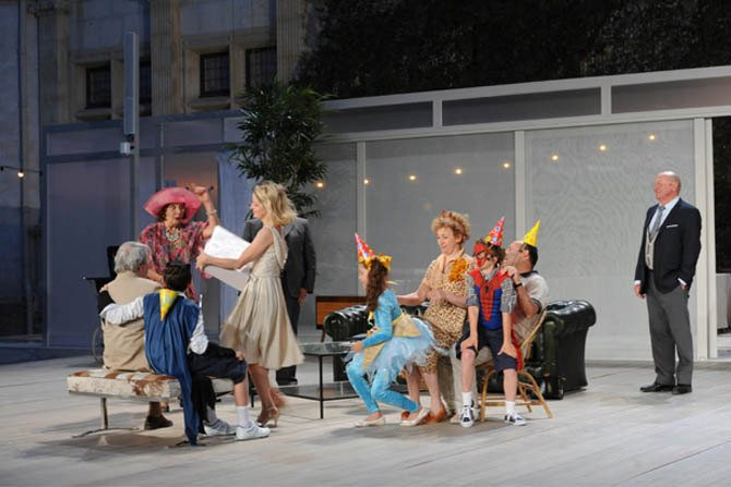 Chatte sur un toit brûlant - Critique sortie Théâtre Lyon _Théâtre des Célestins