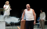 Légende photo : Philippe Torreton, époustouflant Cyrano.