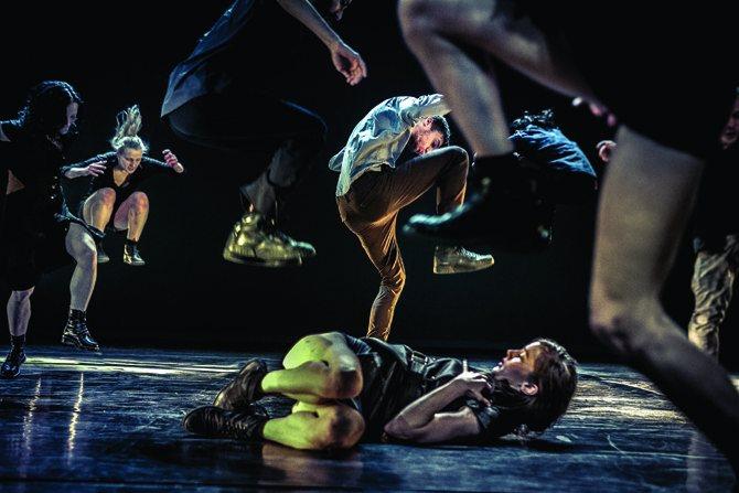 What the body does not remember - Critique sortie Danse Pontoise L'APOSTROPHE - THEATRE DES LOUVRAIS