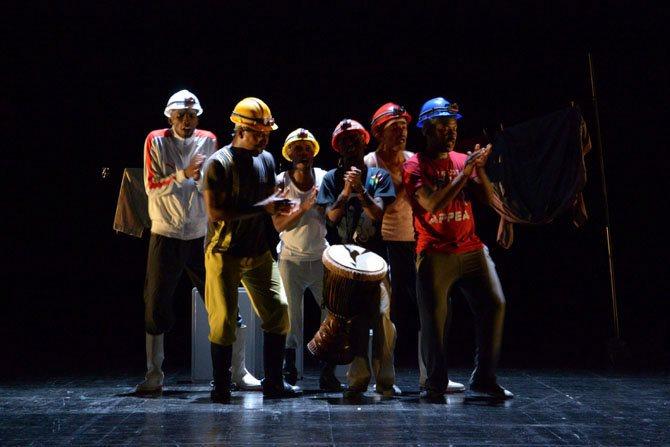 Les Via Katlehong occupent le 104 - Critique sortie Danse Paris Le Centquatre