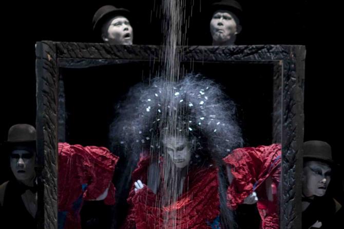 Deux pièces de Dairakudakan à Paris - Critique sortie Danse Paris Maison de la Culture du Japon