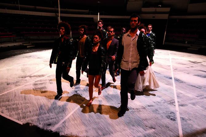 Tetrakaï - Critique sortie Théâtre Paris l'Espace Chapiteau de la Villette