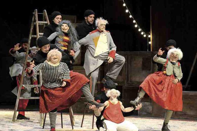 Les Encombrants font leur cirque - Critique sortie Théâtre La Courneuve _Centre Jean-Houdremont