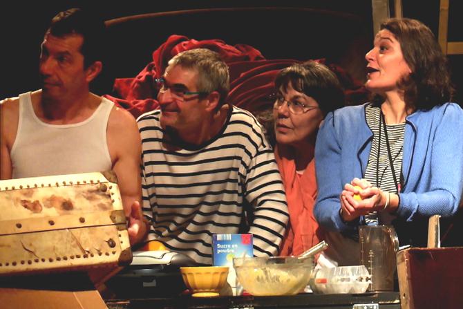Une fête, prologue - Critique sortie Théâtre La Courneuve Centre Culturel Jean Houdremont