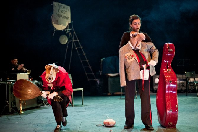 Sur les traces du ITFO - Critique sortie Théâtre saint denis Théâtre Gérard-Philipe – Centre dramatique national de Saint-Denis
