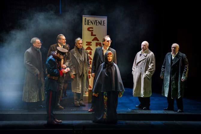 La Visite de la vieille dame - Critique sortie Théâtre Paris Théâtre du Vieux-Colombier