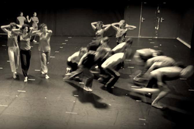Le Sacre # 2 - Critique sortie Danse Noisy-le-Sec Théâtre des Bergeries