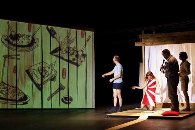 J'AVANCE ET J'EFFACE - Critique sortie Théâtre Vélizy-Villacoublay L'Onde