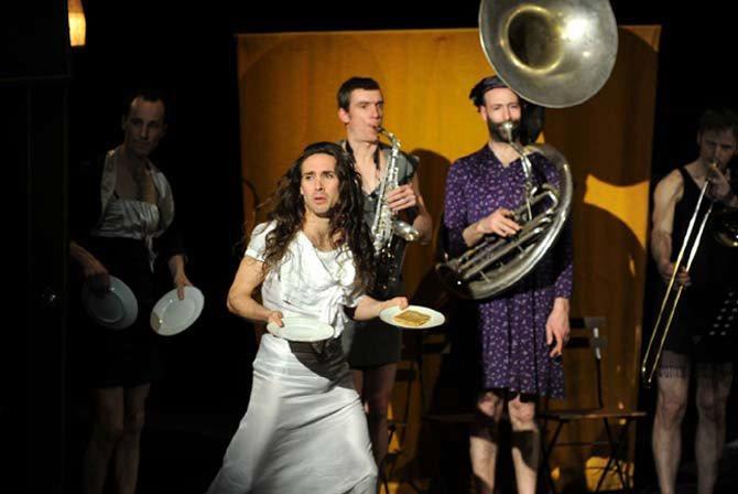 Le Cabaret calamiteux - Critique sortie Cirque Cherbourg-Octeville La Brèche