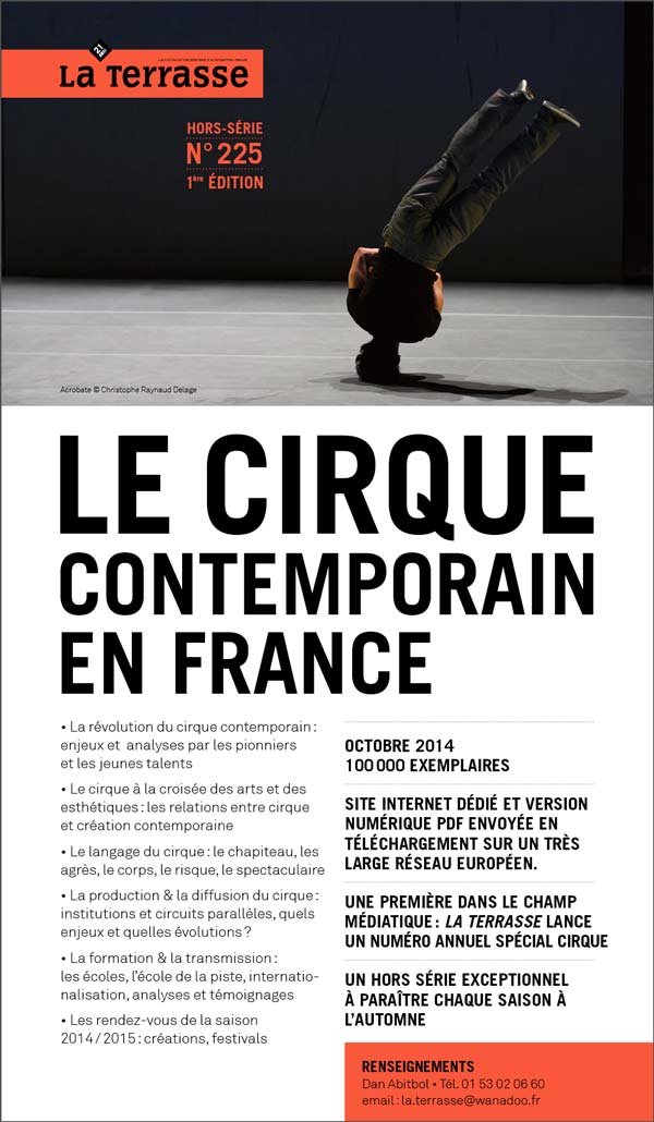 Edito La terrasse @ Laculture.info