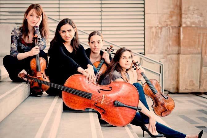 Quatuor Zaïde - Critique sortie Classique / Opéra Paris Théâtre des Champs-Élysées
