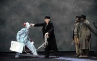 En attendant Godot, de Samuel Beckett, à la Comédie de Caen. Crédit Photo : Tristan Jeanne-Valès