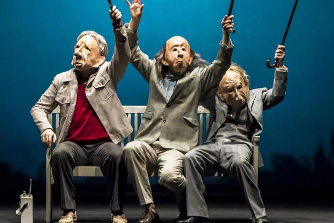 Infinita - Critique sortie Théâtre Paris Le Monfort