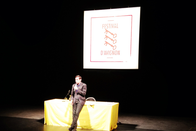 Le Festival d'Avignon incompatible avec le Front National - Critique sortie Théâtre Paris France Info