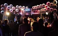 Turbo Clap Station : hauts parleurs et fusion musicale au festival Les Tombées de la Nuit par le groupe Mazalda. © Mathhieu Wadoux-Girard